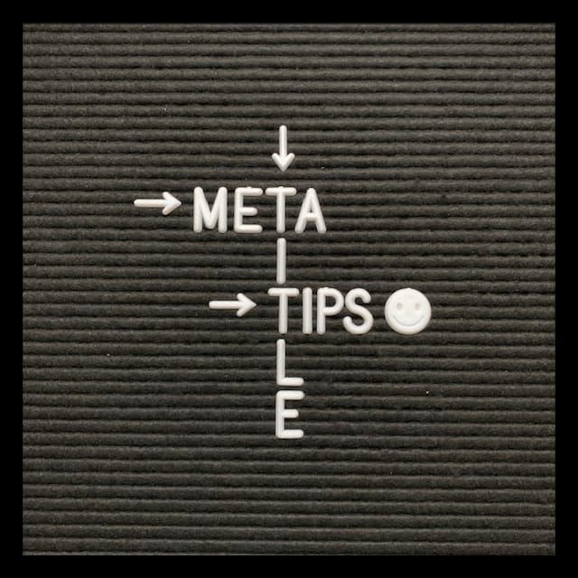 meta title tips