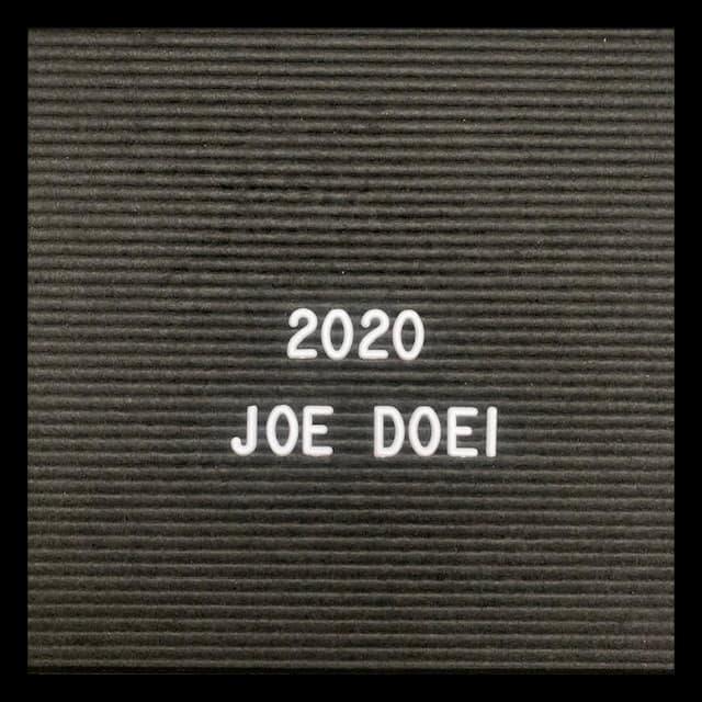 2020 joe doei