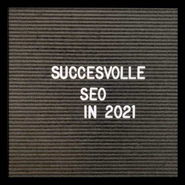 succesvolle seo 2021