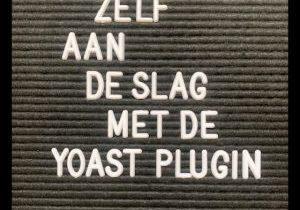 Yoast SEO plug-in